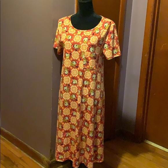LuLaRoe Dresses & Skirts - Womens Large Donald Duck Carly: LULAROE